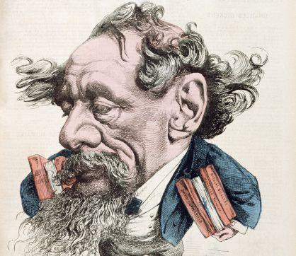Dickens. Caricatura