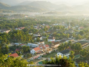 13 Birds eye view of Luang Prabang