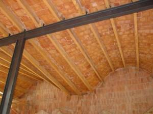 Gaudi Vista int Escoles S F vigues i teulada