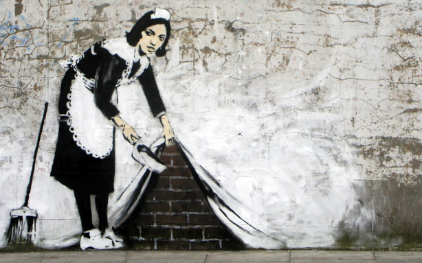 Banksy-art-Maid