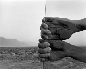 My hands_Death Valley, Co. Judy Dater 1980
