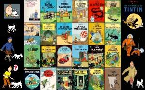 Tintin 24 albums